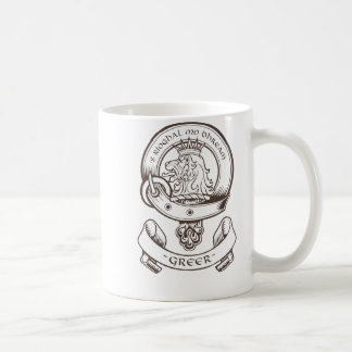 Greer Clan Badge Mug