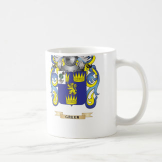 Greer Coat of Arms (Family Crest) Classic White Coffee Mug