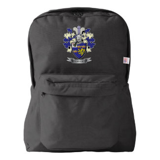 Greer Family Crest Coat of Arms Backpack