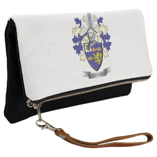 Greer Family Crest Coat of Arms Clutch