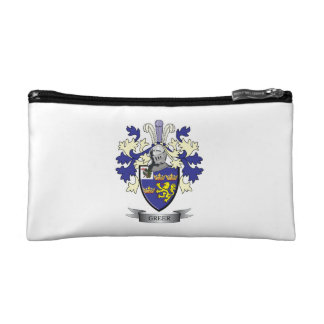 Greer Family Crest Coat of Arms Cosmetic Bag