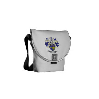 Greer Family Crest Coat of Arms Courier Bag