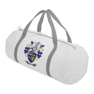 Greer Family Crest Coat of Arms Duffle Bag