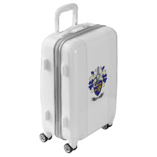 Greer Family Crest Coat of Arms Luggage