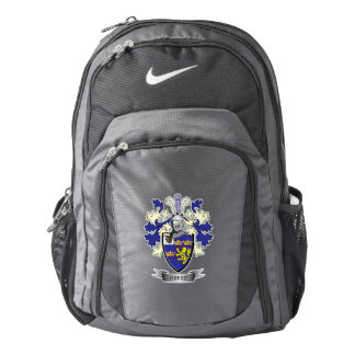 Greer Family Crest Coat of Arms Nike Backpack