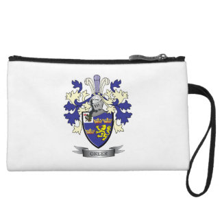 Greer Family Crest Coat of Arms Wristlet Wallet