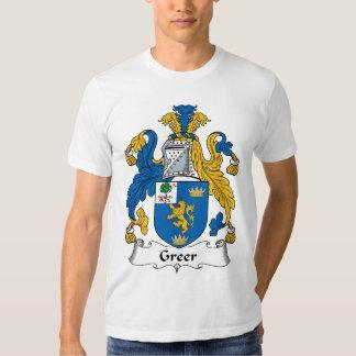 Greer Family Crest T-shirt