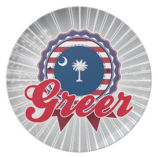 Greer SC Platos Para Fiestas