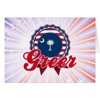 Greer SC Tarjeta