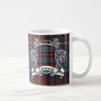 Greer Tartan Shield Classic White Coffee Mug