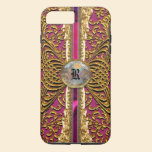Greerlore Hot Sassy Victorian Chic Monogram iPhone 7 Plus Case