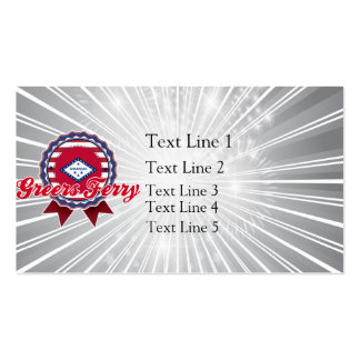 Greers Ferry, AR Business Cards