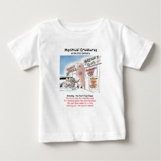 Greeslop, the Fast Food Fiend Infant T-shirt