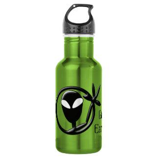 Greet Earthling Alien Greeting Water Bottle