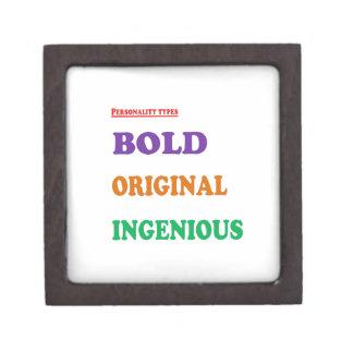 Greet Gift Friends: BOLD ORIGINAL INGENIOUS Humans Premium Jewelry Boxes