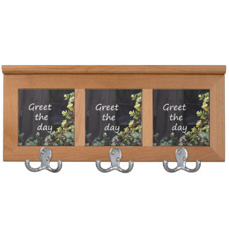 greet the day with baby jade coat rack