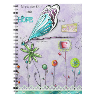 Greet the Day with Hope and Joy Notebook