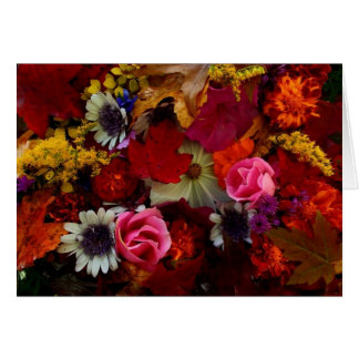 Greeting 123 Cards - Autumn Bouquet