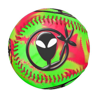 Greeting Aliens Baseball