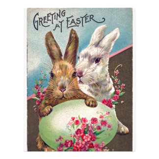 Greeting at Easter Letterhead