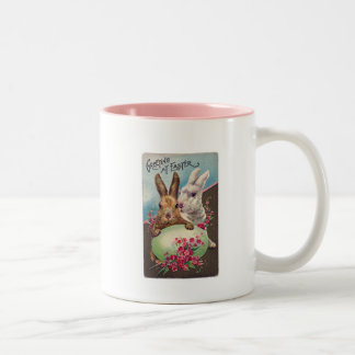 Greeting at Easter Coffee Mugs
