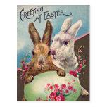 Greeting at Easter Postcard