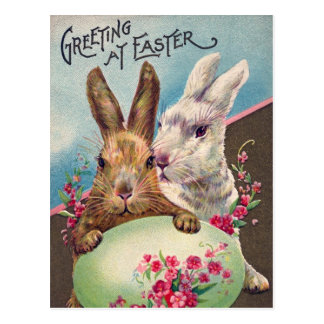 Greeting at Easter Postcard