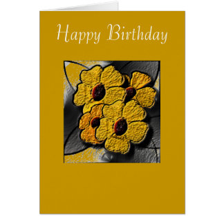 Greeting Card - 3D Happy Birthday