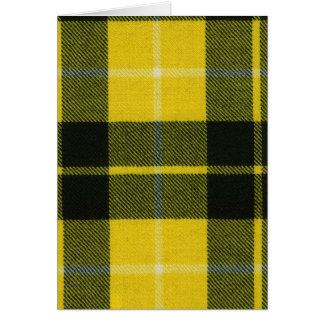 Greeting Card Barclay Dress Modern Tartan