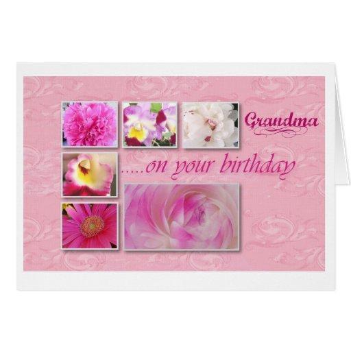 Greeting Card Birthday Grandma