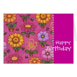 Greeting Card Blank - Happy Birthday