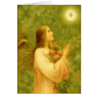 Greeting Card: Bread of Angels