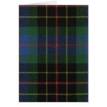 Greeting Card Brodie Hunting Ancient Tartan Print