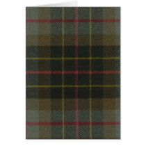 Greeting Card Brodie Hunting Weathered Tartan