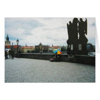 Greeting Card - Charles Bridge, Prague