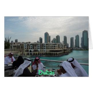 GREETING CARD - Coffee time in Dubai