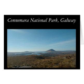 Greeting Card Connemara National Park, Galway
