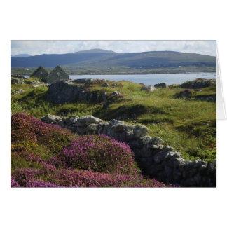 Greeting card : Connemara scenery