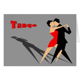 greeting card cubic tango