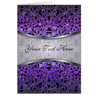 Greeting Card Floral abstract background