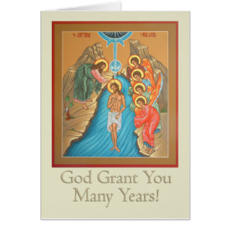 Greeting Card for Baptisms