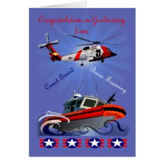 Greeting Card  for Coastguard Graduate
