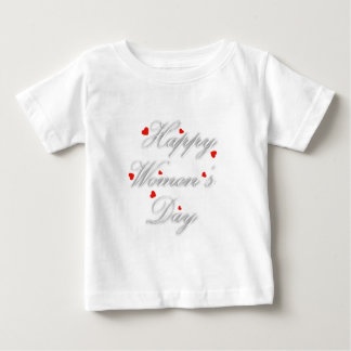 Greeting card for international womens day baby T-Shirt