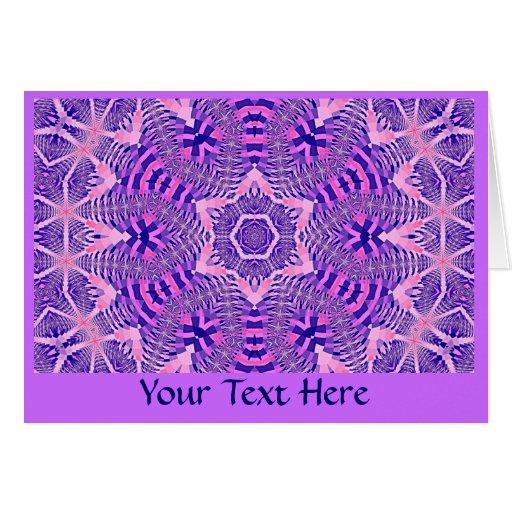Greeting Card - Fractal Art 1236