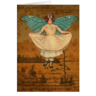 Greeting Card, Frail Children of the Air Card