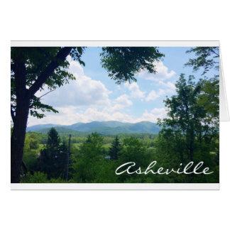 Greeting Card from Asheville, North Carolina