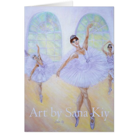 Greeting Card. Grace of Dance Card
