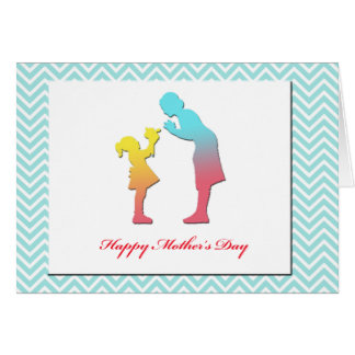 Greeting card-Happy Mother's Day-Thank you Mom