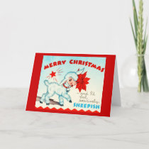Greeting Card-Holiday Art-Vintage Christmas 15 Holiday Card