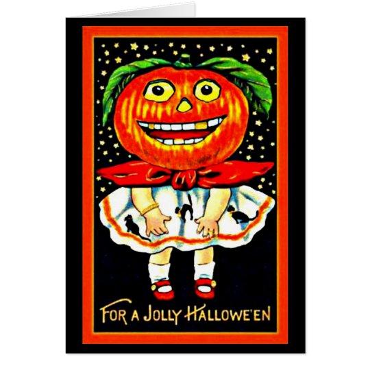 Greeting Card-Holiday Art-Vintage Halloween 30 Card